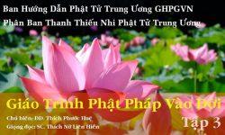 Giáo Trình Phật Pháp Vào Đời tập 3